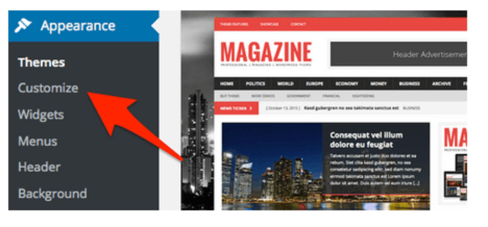 Magazin WordPress Theme