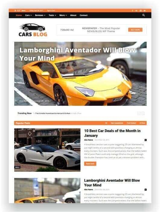 Wordpress Blog de mecanismo