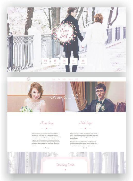 Hochzeit Webseite mit WordPress erstellen
