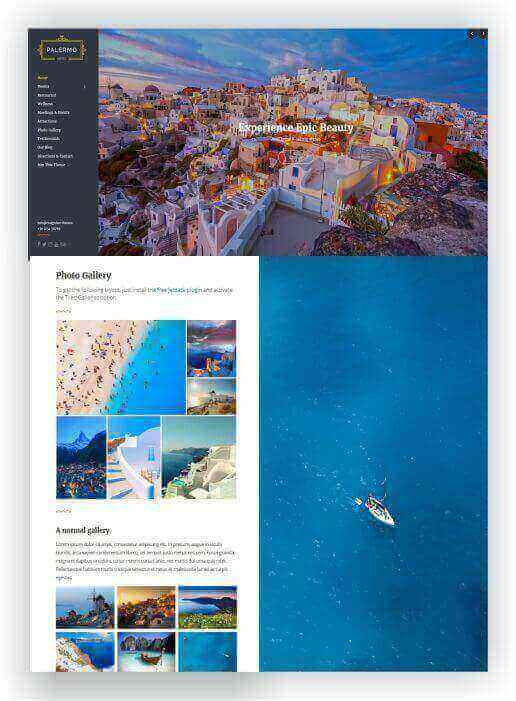 Hotel Template WordPress