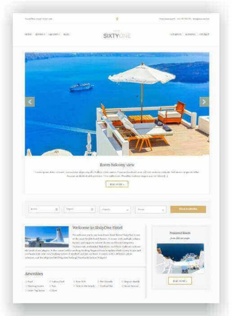 Hotel WordPress Thema