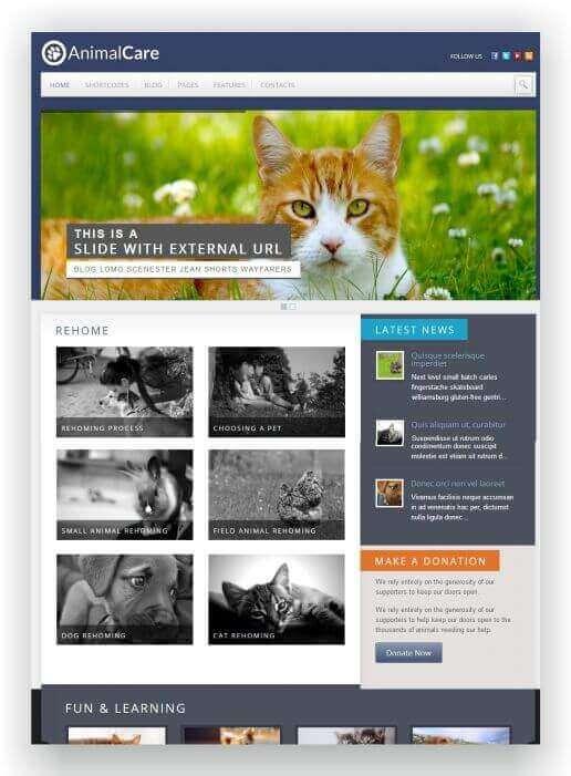 Wordpress Tier Blog