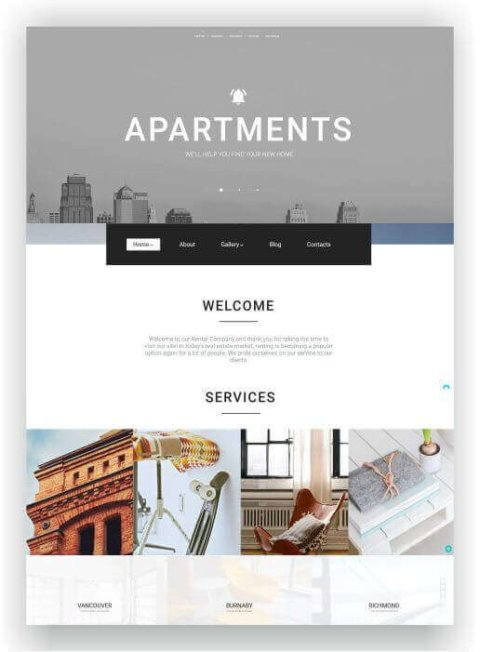 WordPress Thema für Immobilienagentur