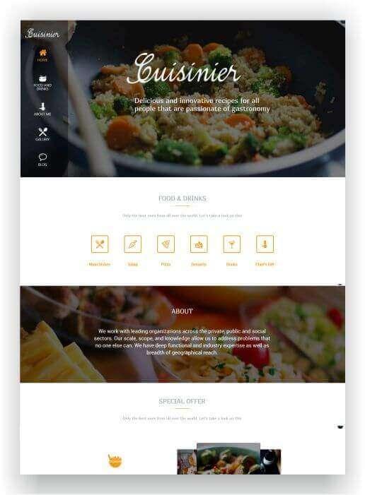 Wordpress Theme für Rezepte