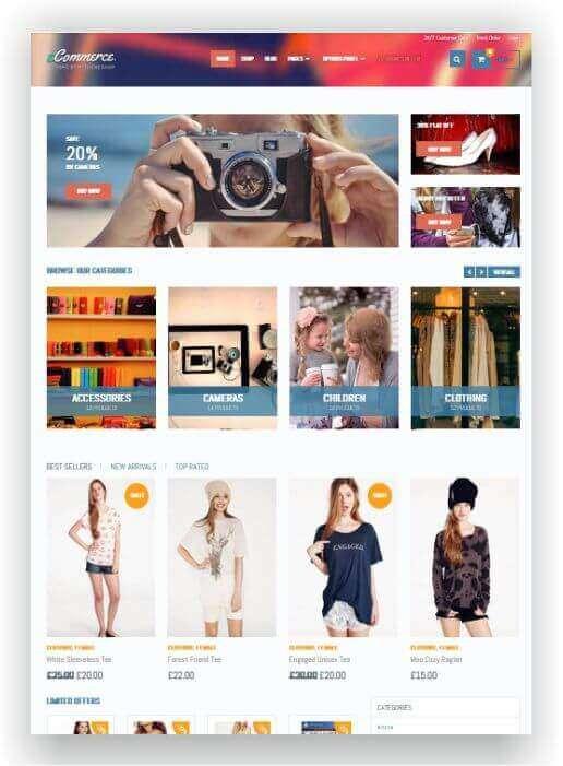 Wordpress Theme für Woocommerce
