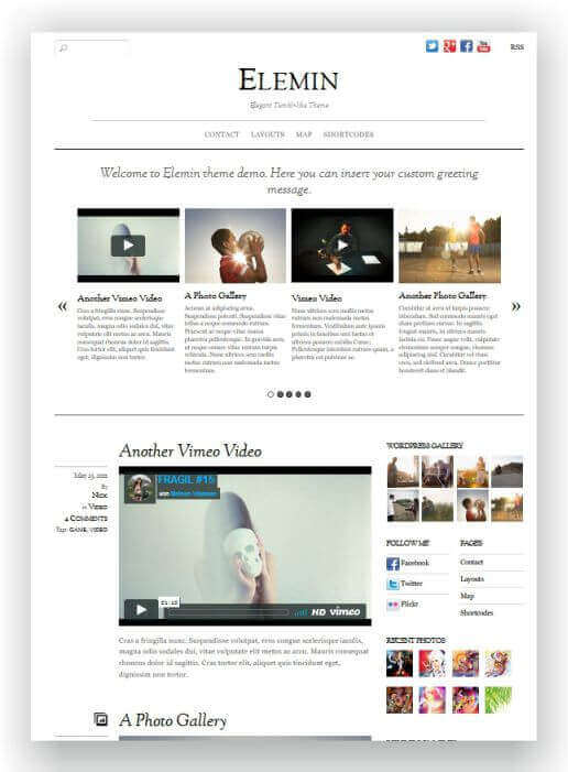 Simples WordPress Magazin Theme
