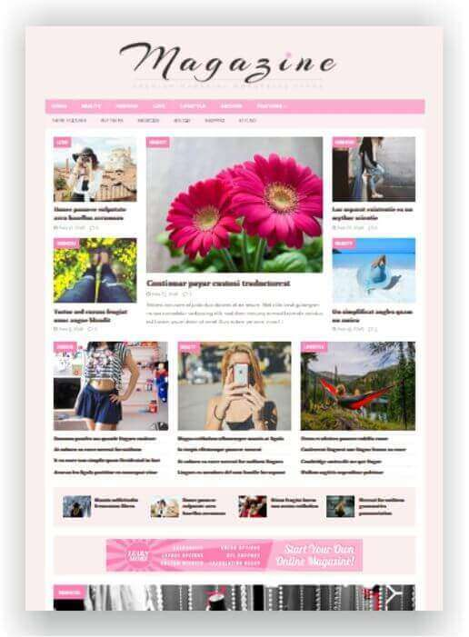 Website Woman Magazine