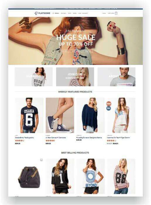 WooCommerce Multipurpose Theme