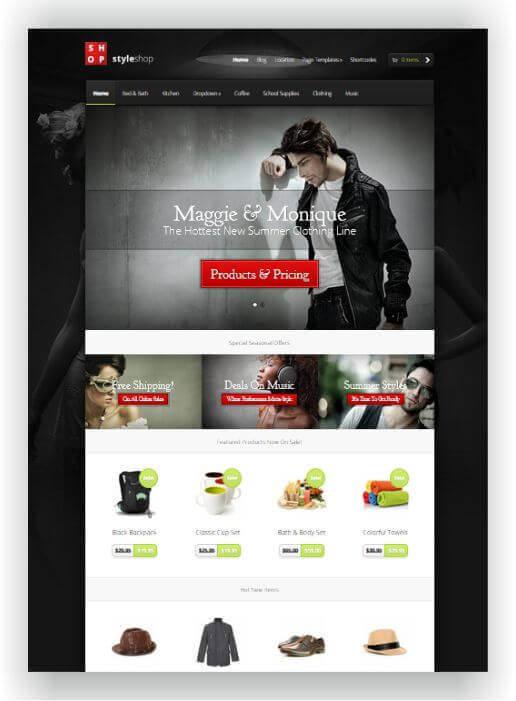 Shop Theme WordPress