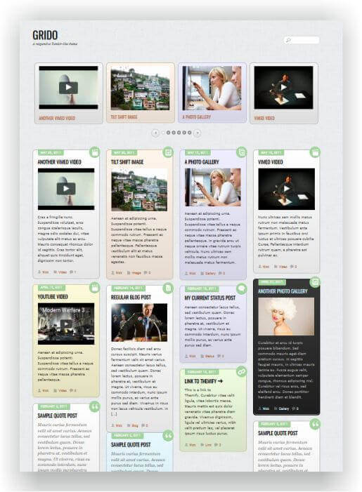 TiblrStyle WordPress Magazine Theme
