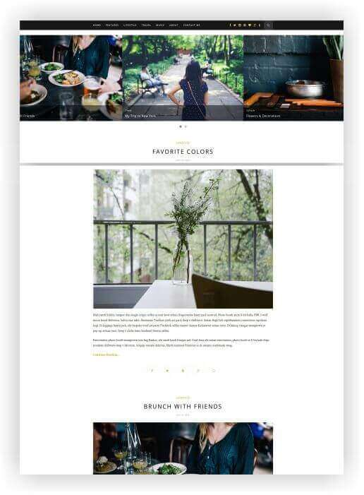 Creative Blog Theme