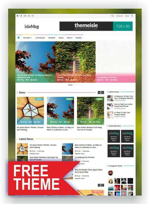 Free WordPress Magazin