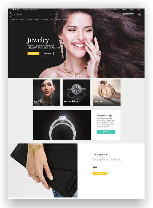 WordPress for Jewellery