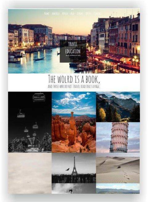 WordPress Thema Reisebüro