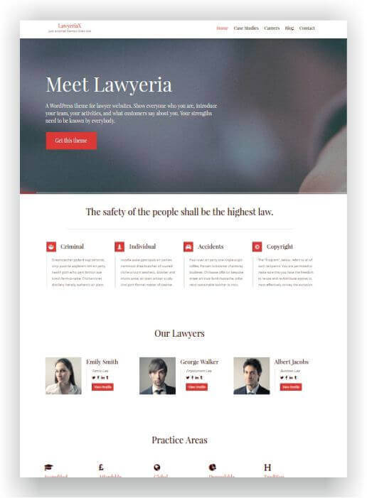 Wordpress Themes für Rechtsanwälte