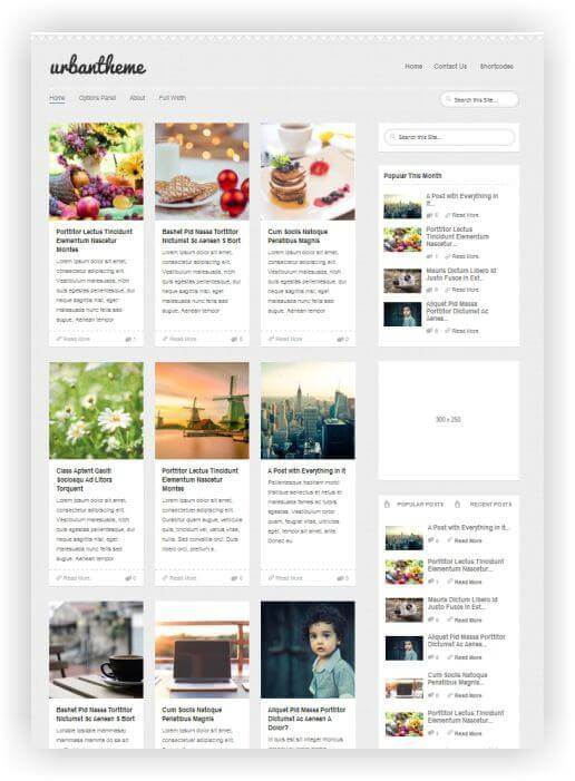 Wordpress Theme für Blog