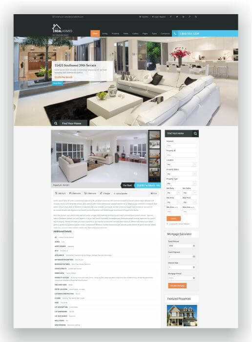 wordpress immobilien themes