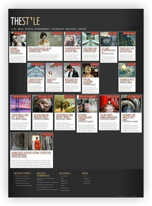 Wordpress Magazin Thema