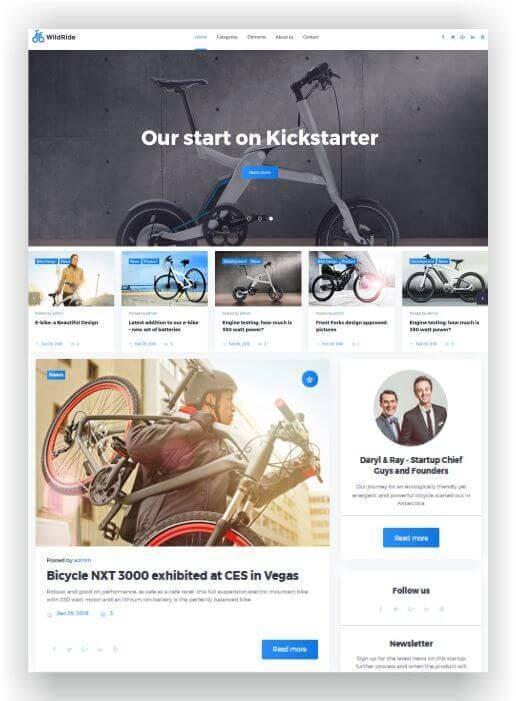 Wordpress Themes für Sport und Freizeit