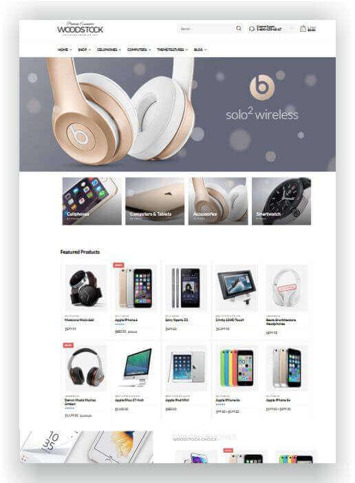 WooCommerce Theme für WordPress