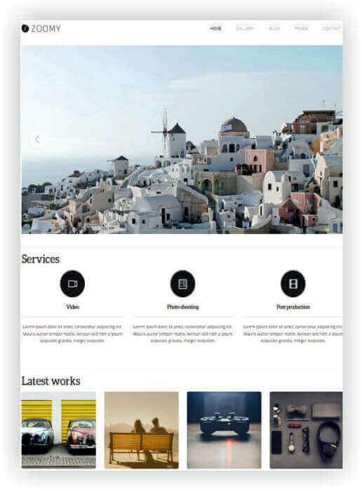 Wordpress Foto Tema