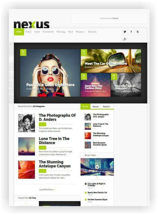 Gratis WordPress Thema