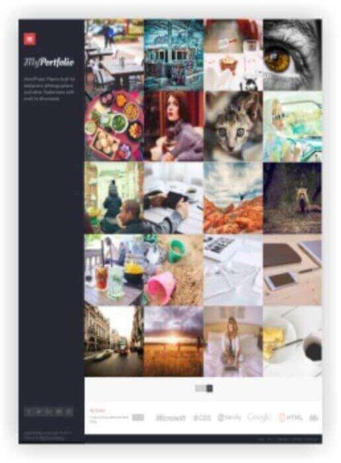 WordPress Foto Thema