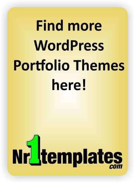 Blog Portfolio Theme