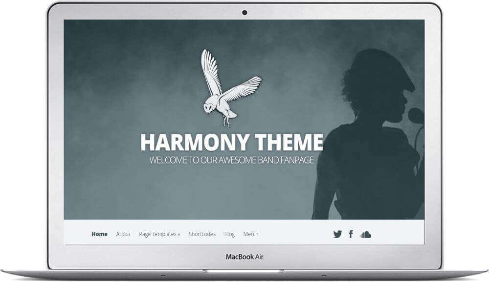 Webseite für eine Band erstellen