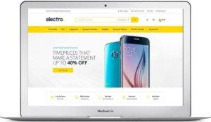 WooCommerce Thema für Elektro Shop