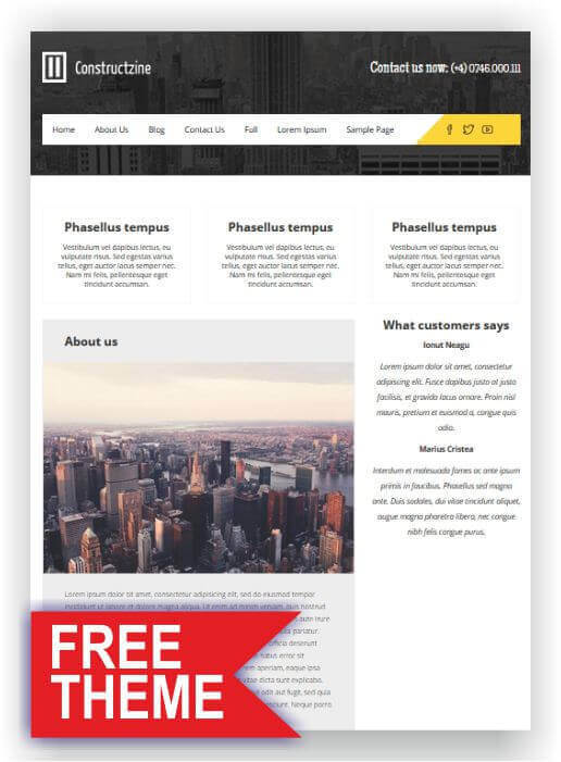 Wordpress Gratis Thema