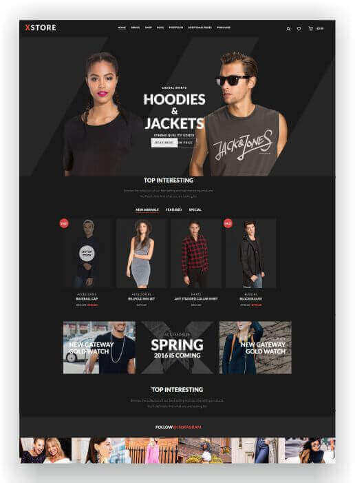 Tema WooCommerce reactivas