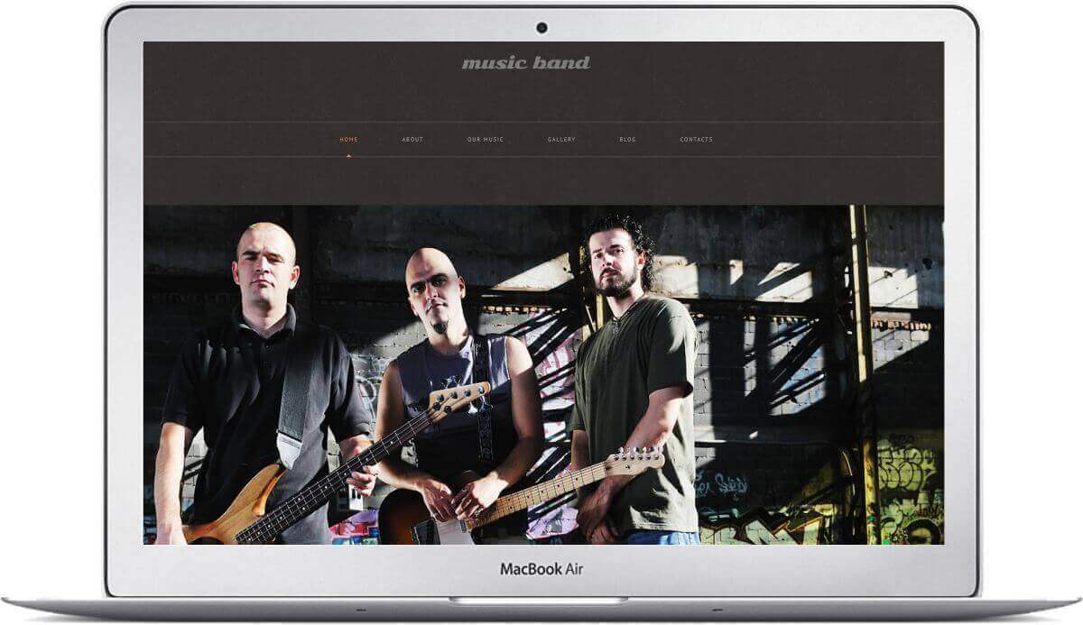 Wordpress for Bands
