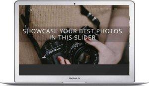 Webseite für Fotografen mit WordPress