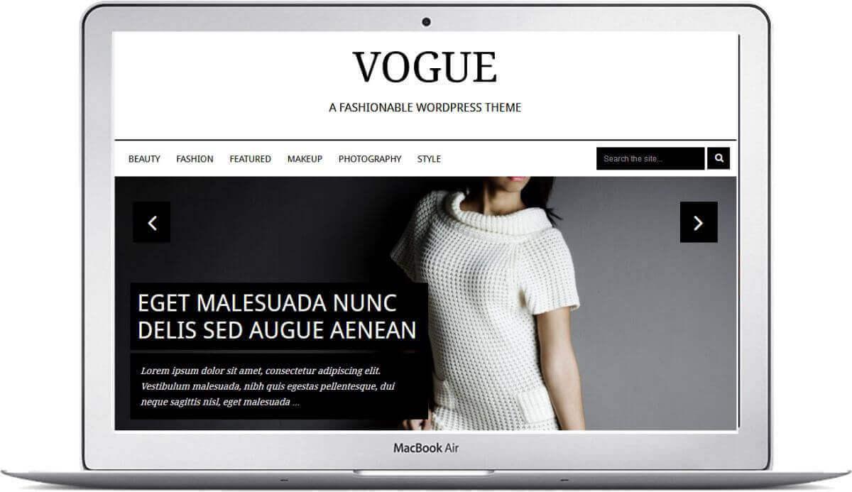 Einfacher WordPress Fashion Blog