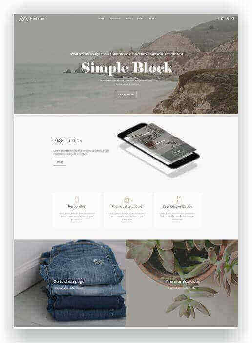 Woocommerce WordPress Thema