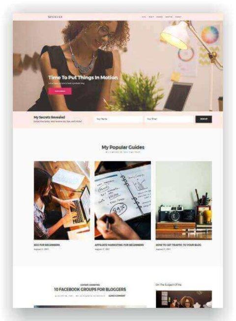 WordPress Blog und Firmen Webseite