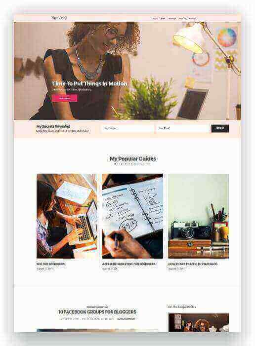 WordPress Blog and Company Website