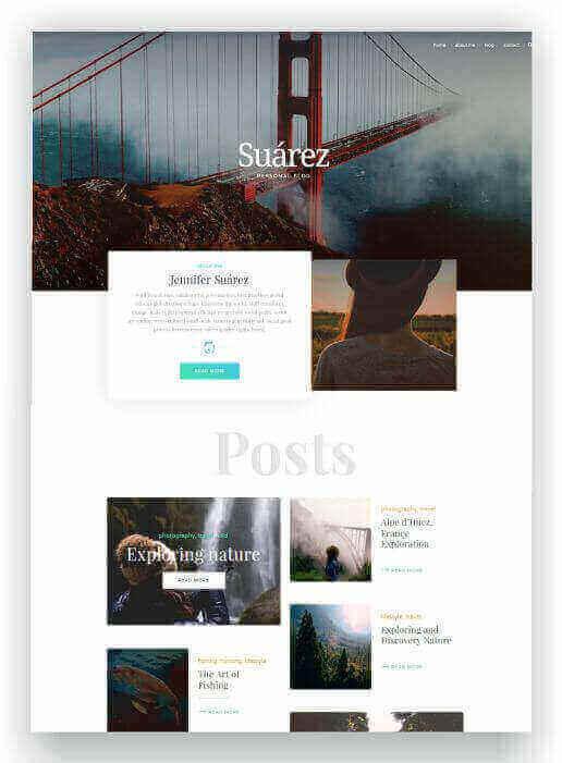 Creative WordPress Blog Theme