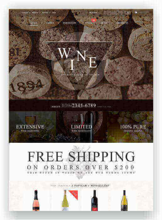 Online Winestore