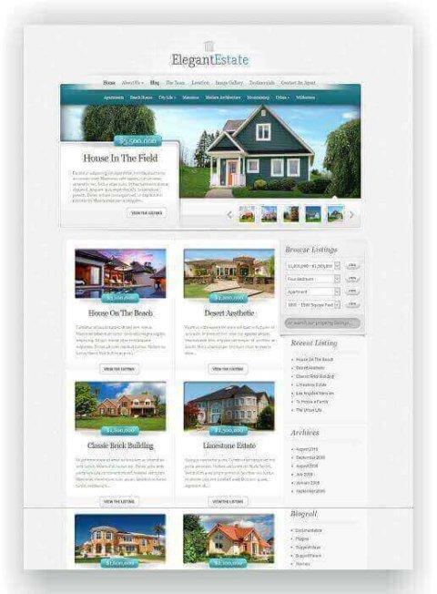Real Estate WordPress