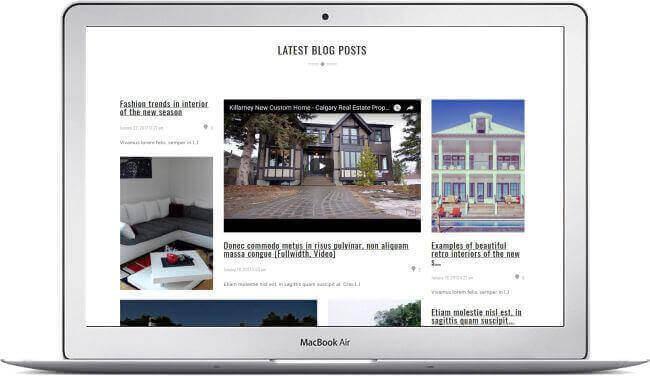 Tema receptivo inmobiliario WordPress Elysum - Descargar aquí!