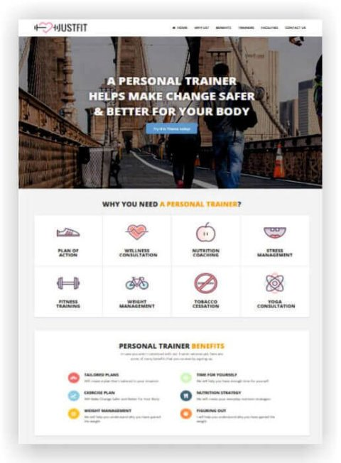 WordPress für Personal Trainer