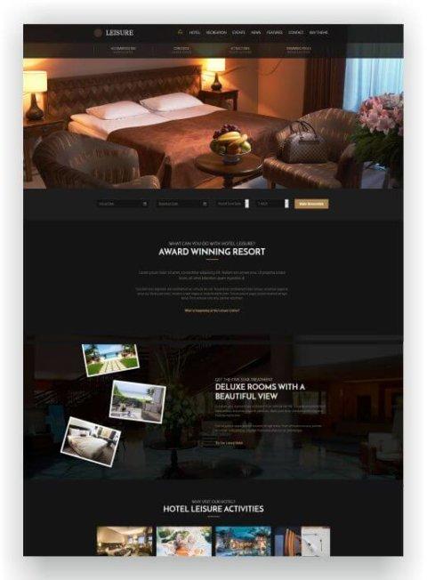 Internetseite für Hotel erstellen